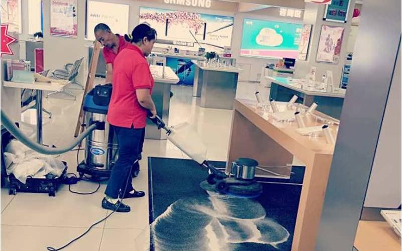 珠三角区域苹果体验店开荒清洁