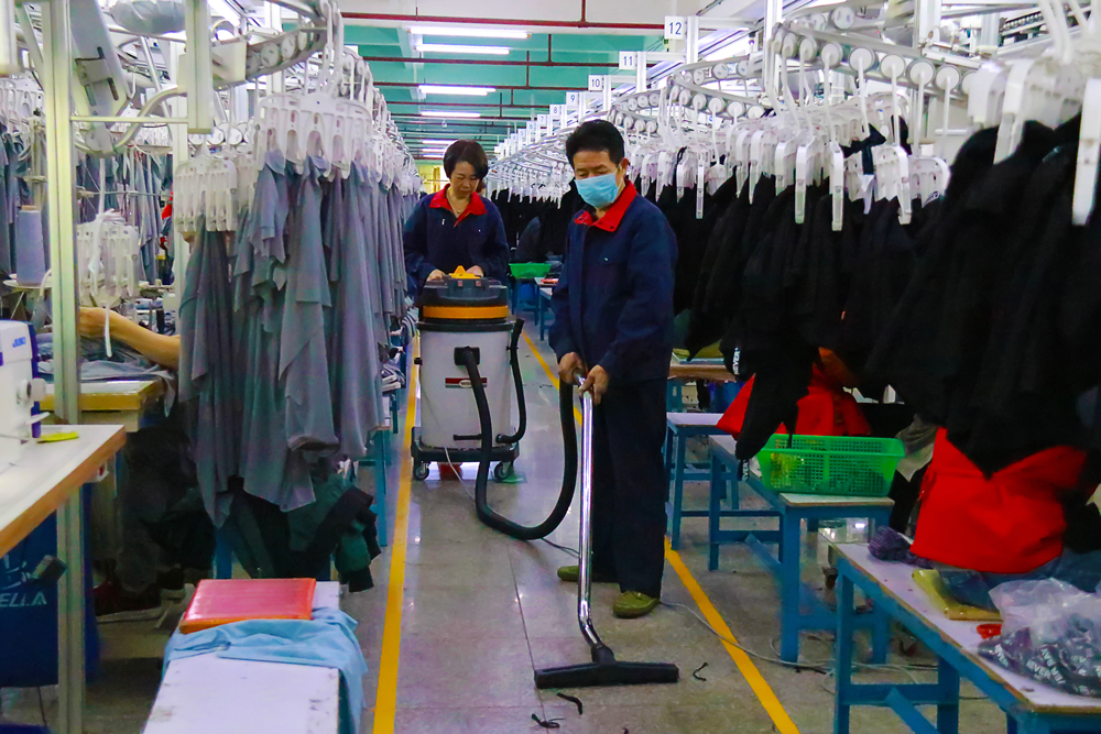 明捷清洁工厂保洁服务方案